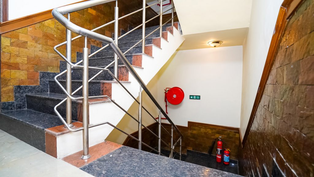 STAIRS AND FIRE CONTROL